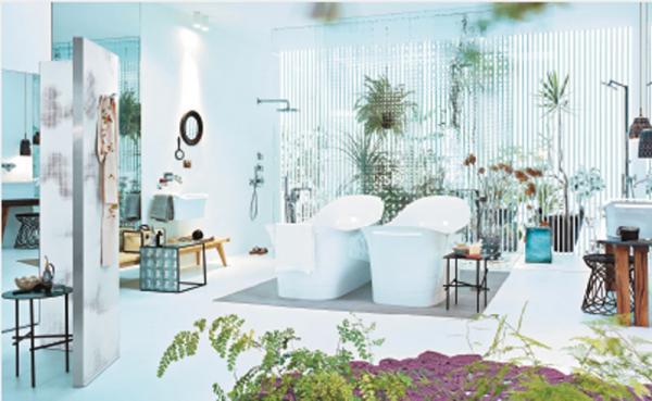 un peu d 39 originalit dans la salle de bain. Black Bedroom Furniture Sets. Home Design Ideas