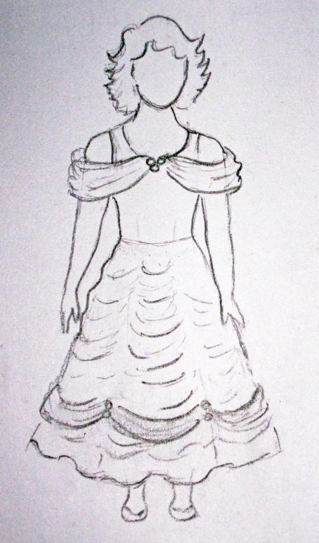 Tuto couture robe belle et la bete