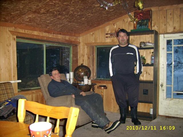 Connexion for Camp en bois rond