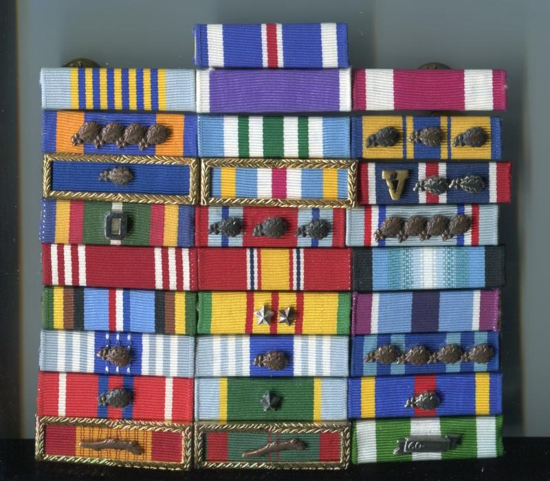 Usaf pj ribbon rack medals decorations u s for Air force decoration chart