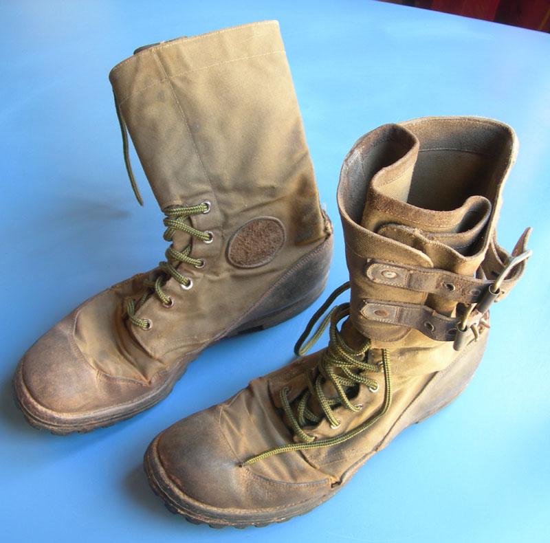 Buckle top jungle boots - WW2? - FOOTWEAR [REF] USA - U.S
