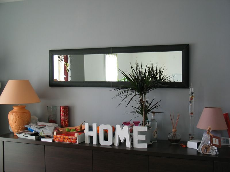 miroir de la salle manger le blog de la construction de daniel et val rie. Black Bedroom Furniture Sets. Home Design Ideas