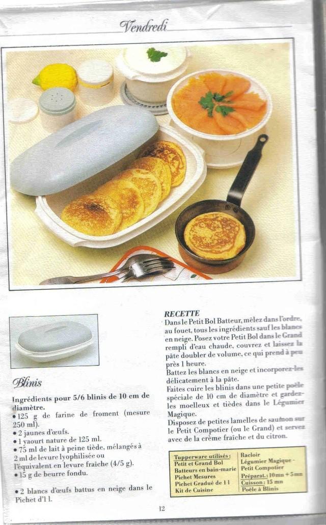 livre recettes cr 234 pes tupperware