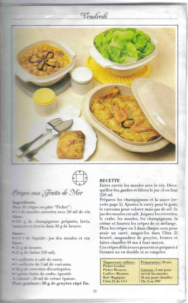 Livre recettes cr pes tupperware page 2 - Recette crepe tupperware ...
