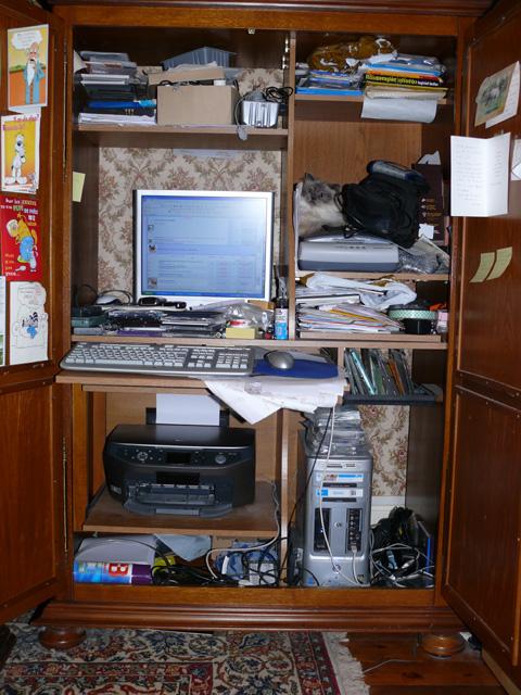 votre petit coin bureau informatique. Black Bedroom Furniture Sets. Home Design Ideas