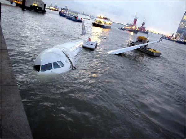 Авиакатастрофы расследование посадка на гудзон