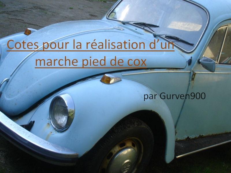repose pied passager cox et vw aircooled only old droppers. Black Bedroom Furniture Sets. Home Design Ideas