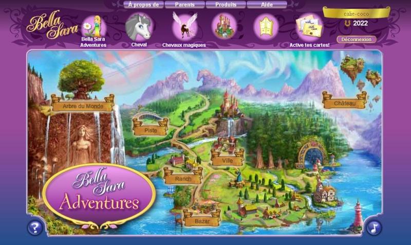 Guide carte du monde - Jeux de bella sara ...