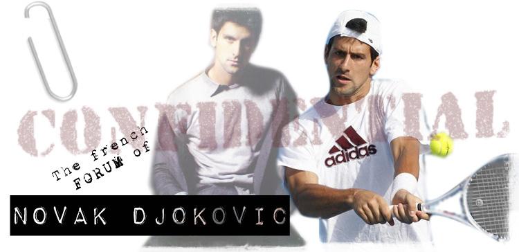 Novak Djoković [the french forum]