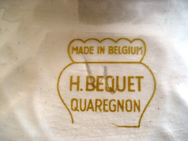 H.bequet quaregnon I have a vase #764 and – Answer 2 of 3 by