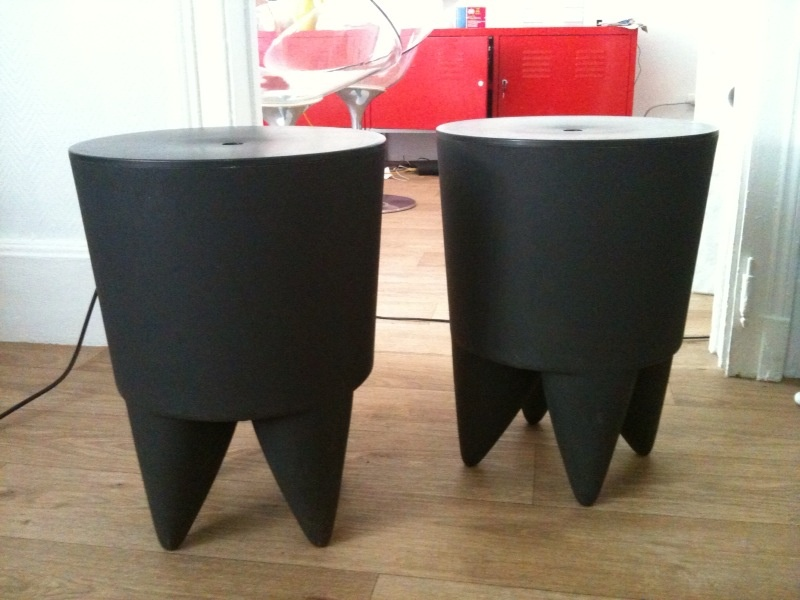 vendu vends paire de bubu 1er philippe starck x0 design 60. Black Bedroom Furniture Sets. Home Design Ideas