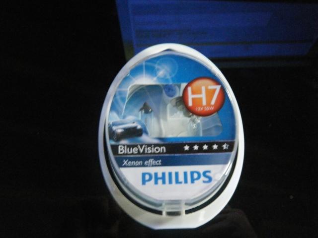 vendues ampoules h7 phillips bluevision 25. Black Bedroom Furniture Sets. Home Design Ideas