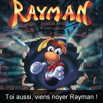 Rayman noyade