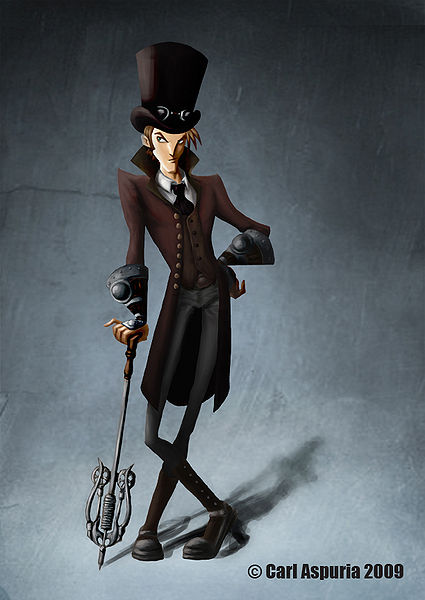 steampunk style vestimentaire