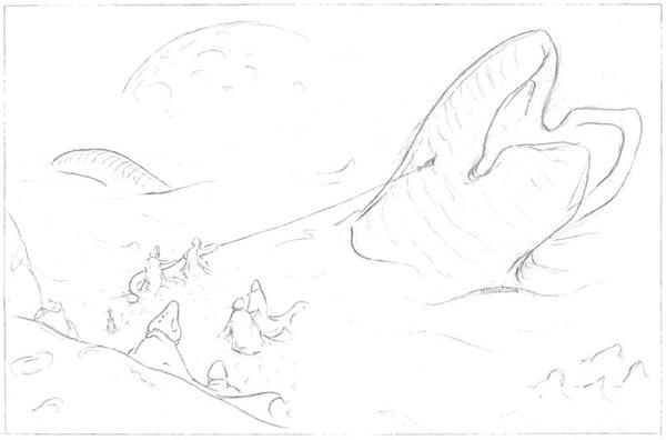Vers des sables Dune