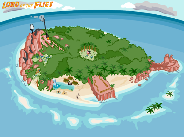 Lord of the Flies island