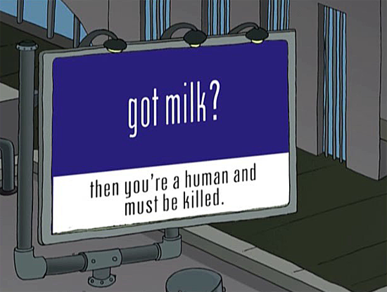 Futurama Got Milk