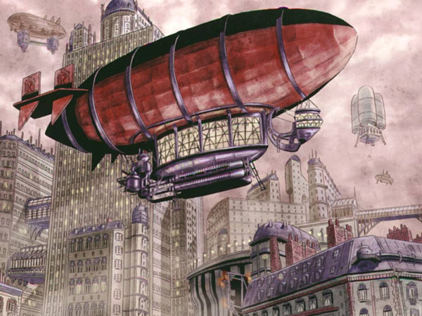 zeppelin steampunk