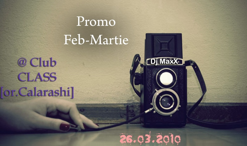 Dj MaxX - @Feb. Mar. 2010 Promo Mix