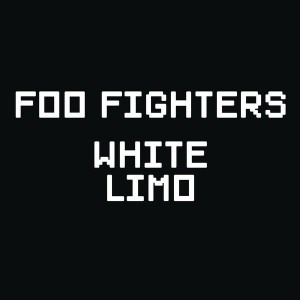 Foo Fighters White Limo