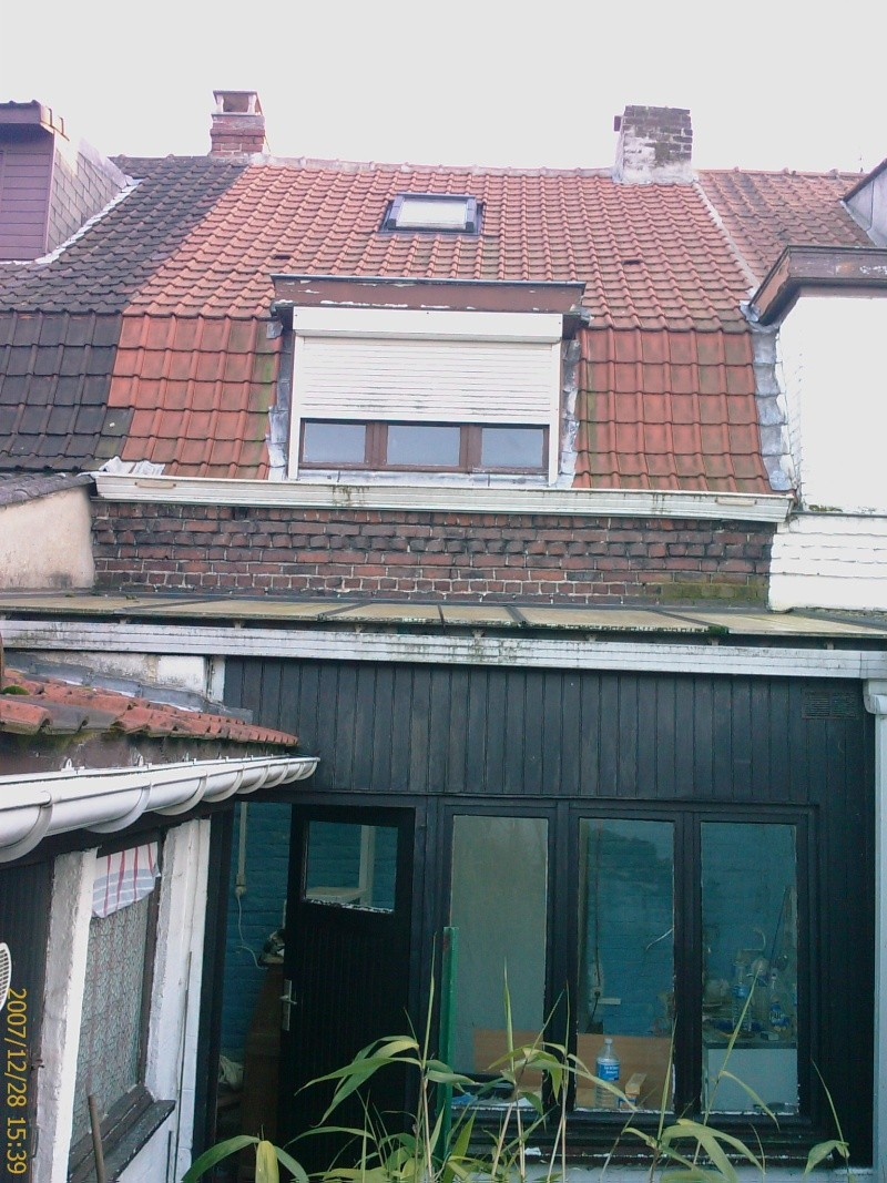 Charpente et toiture faible pente en tuile 26 messages - Desamianter une toiture ...