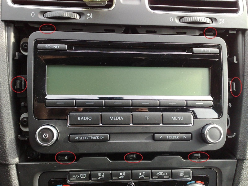 cablage autoradio golf 6