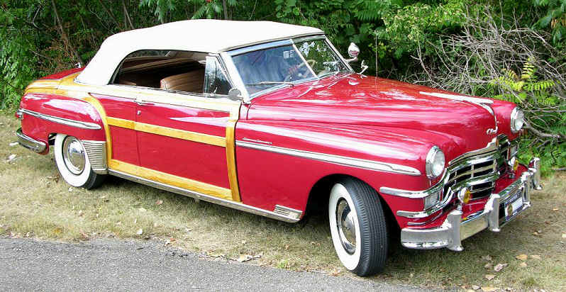 1949 chrysler town  u0026 country convertible