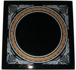 Miroir magique noir for Miroir magique obsidienne noire