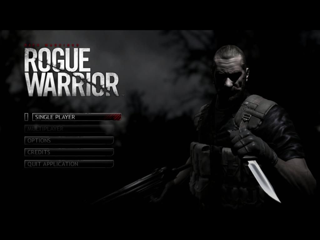 الاكشن الرهيبه Rogue Warrior