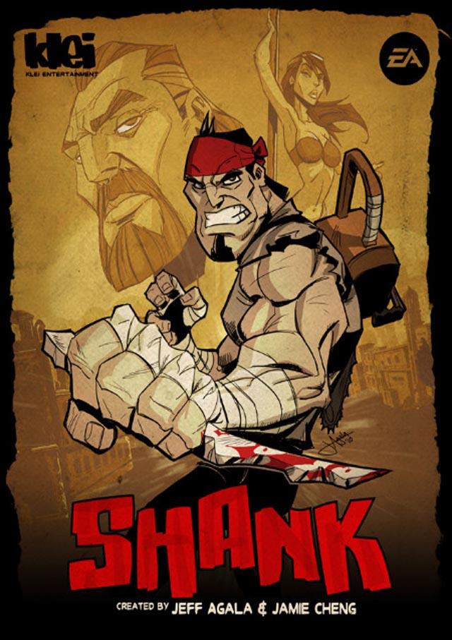 الاكشن والمغامره الشيقه Shank