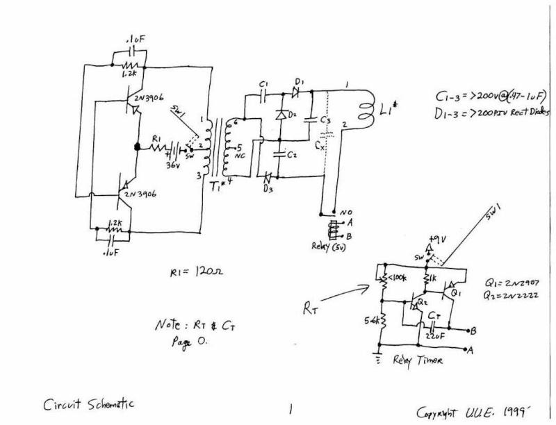 Schemi Elettrici Lavatrici : Generatori ultrasuoni schemi elettrici sensore di