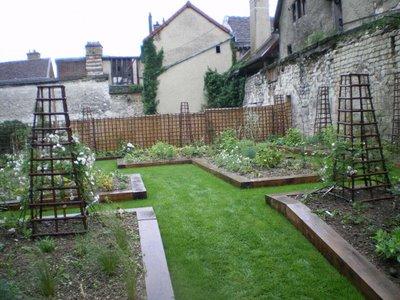 Troyes dans l 39 aube et environs for Jardin xviiie siecle