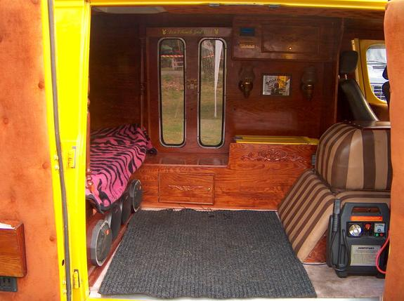 Any van interior idea 39 s for Commercial van interior accessories