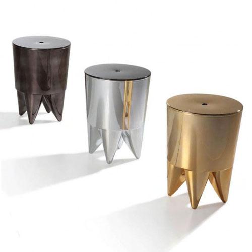 tabouret bubu ii chrom. Black Bedroom Furniture Sets. Home Design Ideas