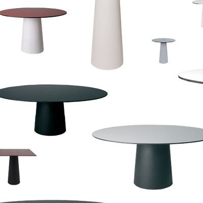 table container grande table rond moooi. Black Bedroom Furniture Sets. Home Design Ideas
