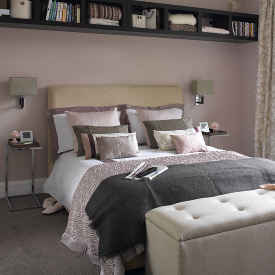 chambre taupe et rose pale redcorer une chambre d adultes - Chambre Adulte Rose Pale Et Beige