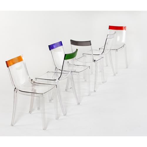 Chaise hit cut kartell for Evolution de la chaise
