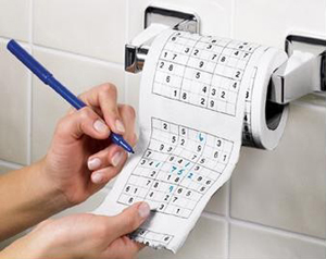 Papier Toilette Pq Sudoku