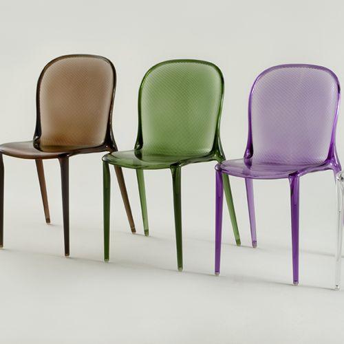 chaise thalya kartell. Black Bedroom Furniture Sets. Home Design Ideas