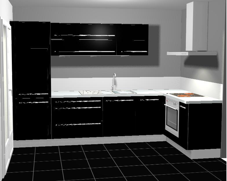 besoin id es peinture cuisine. Black Bedroom Furniture Sets. Home Design Ideas