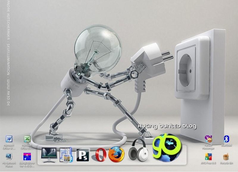 Mempercantik Desktop :: Kucing Bunted