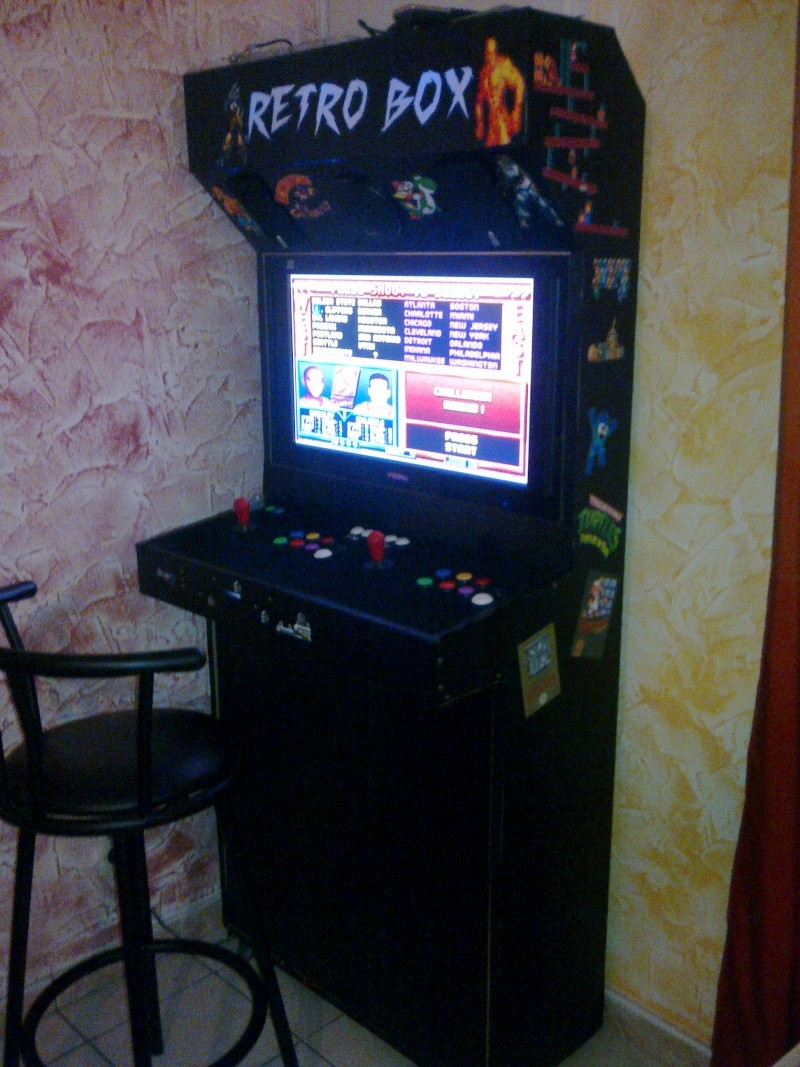 borne arcade avec xbox