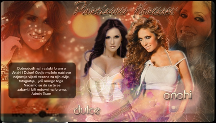 ♥ Anahi Giovanna y Dulce Maria ♥