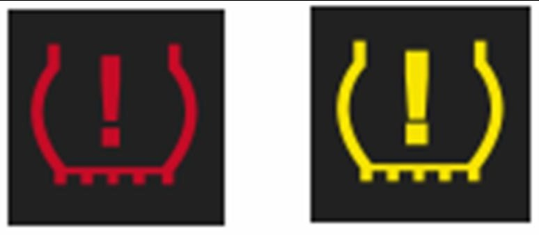 Tyre Pressure Loss Warning Light
