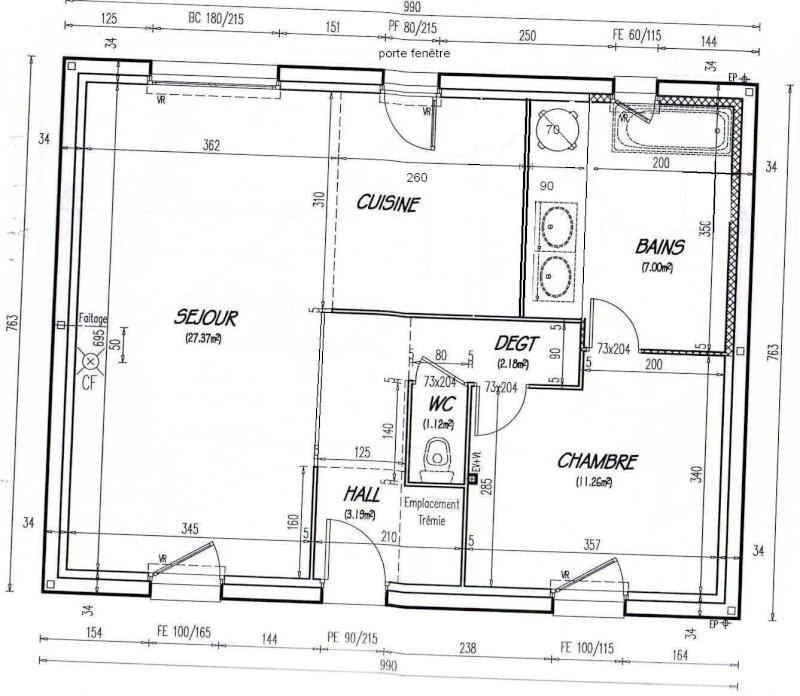 Disposition petite cuisine page 2 for Plan pour cuisine equipee