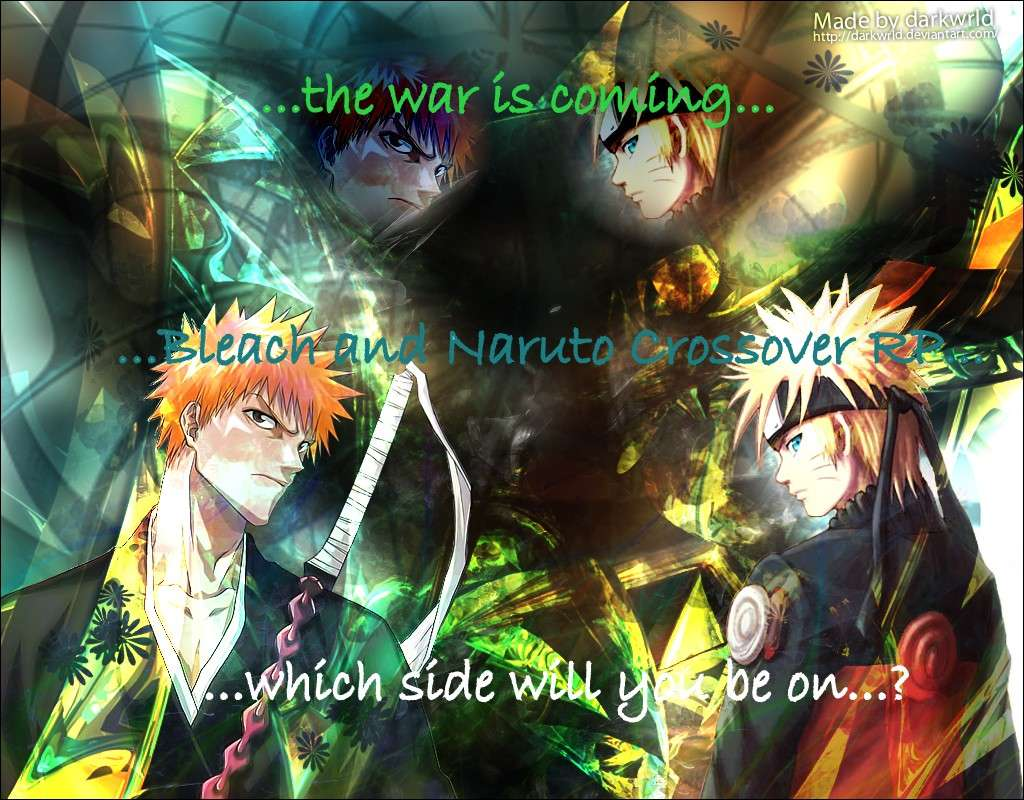Bleach & Naruto crossover