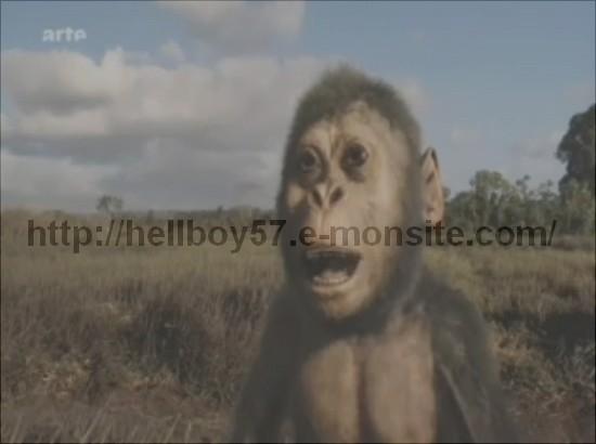 paléoanthropologie anthropologie paléontologie homo erectus homo habilis Australopithecus afarensis homo sapiens Michel Brunet Arte documentaire Aux origines de l'humanité, les premiers pas