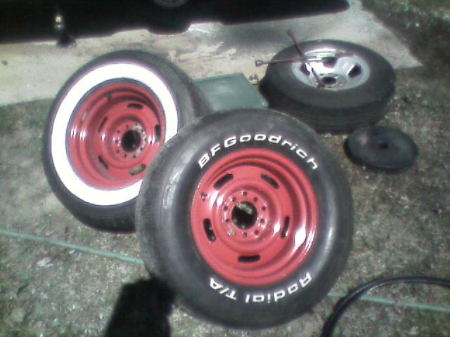 and thatu0027s all it takes to turn your white letter or white wall tire into a wide whitewall tire