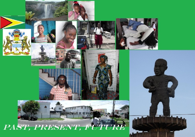 Guyana - A people a history.