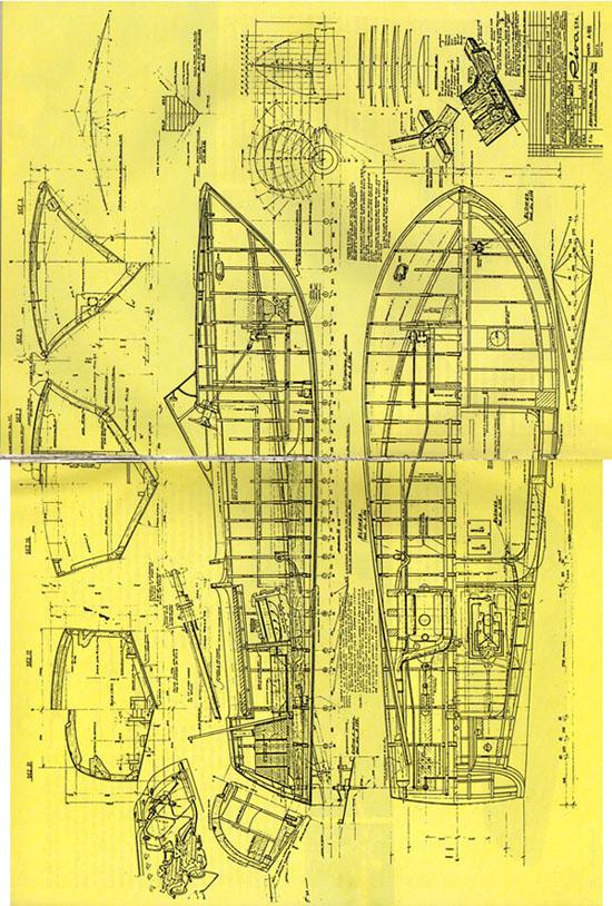 Riva aquarama for Piani di costruzione di un piano